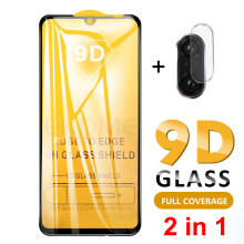 2-in-1 Back Camera Lens Glass Redmi Note 7 9D Tempered Glass Screen Protector For Xiaomi Redmi Note 7 Pro Note 6 Pro Glass Film(China)