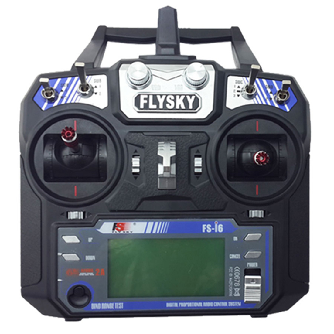 FlySky 2.4G FS-i6 Remote Control with FS-iA6B Receiver RC Helicopter Multirotor FPV Racing Drone for RC Racer Glider/ Aircraft