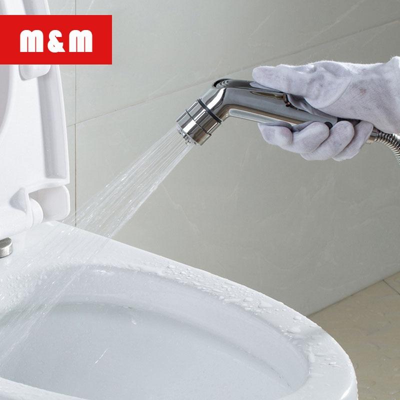 Bidets & Bidet Parts Bidets Hot Sale Shower Clean Body Woman Washer Spray Gun Head Vagina Flushing Toilet Bottom Vaginal Anal Implement Shower Head Bidet Set 2019 Official