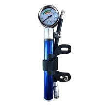 Велосипедный мини-насос с манометром 210 PSI портативный ручной Велоспорт насос Presta и Шрейдер мяч дорога шины велосипед новый