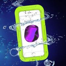 2018 Новый Водонепроницаемый случае Одежда заплыва чехол мобильный телефон В виде ракушки чехол для iPhone 7/7 Plus полностью герметичный ipx68 противоударный Snowproof