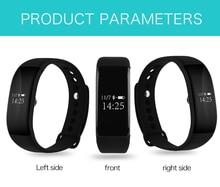 Smartch v66 спорт smart watch smart band bluetooth 4.0 интеллектуальный браслет браслеты часы для android ios телефон pk id107