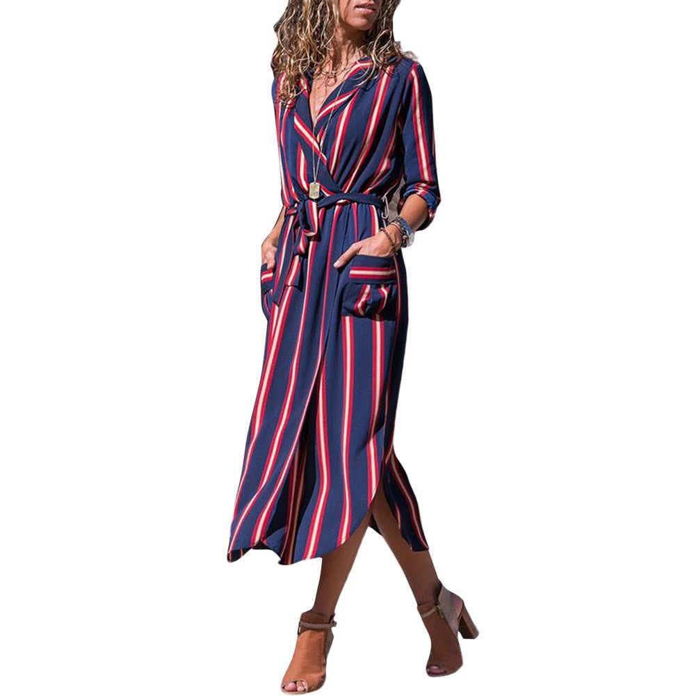 7e84bc6df93 Женское платье с длинным рукавом Осень Бохо пляжные платья для женщин плюс  размер длинные платья макси