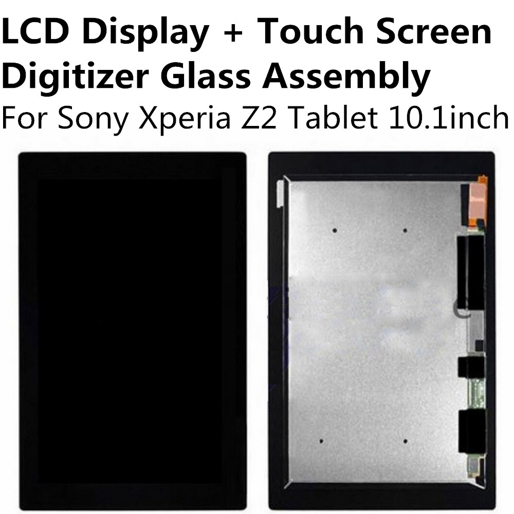 LCD Display + Touch Screen Digitizer Panel Glass Lens Assembly For Sony Xperia Z2 Tablet 10.1inch Replacement Parts Repair Part