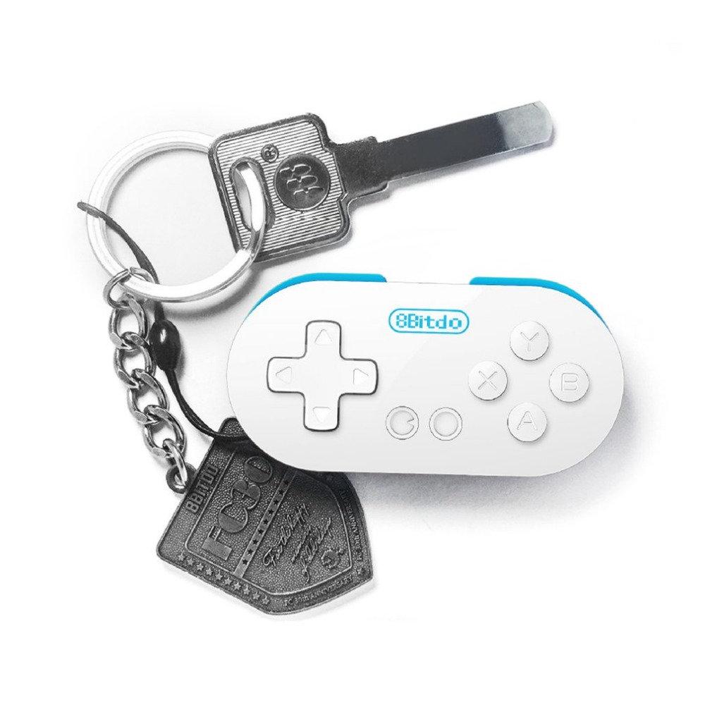 Mini 8Bitdo Zero Wireless Bluetooth Game Controller font b Gamepad b font Joystick Remote Control Selfie