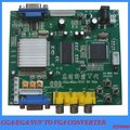 CGA/EGA/RGB TO VGA VIDEO GAME CONVERTER BOARD HD9800