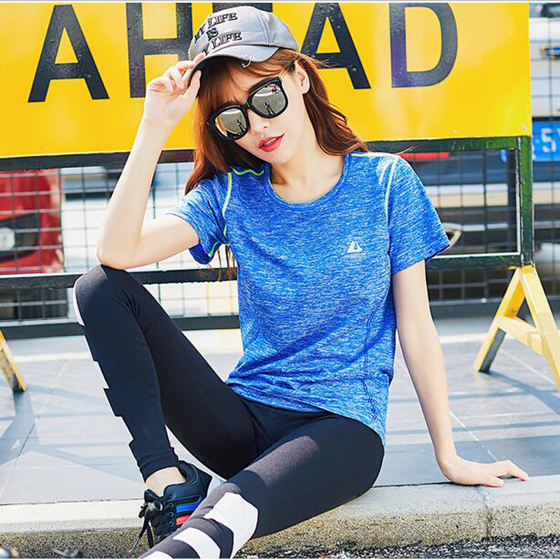 New Summer font b Women b font Sexy Yoga Tops Natural Colors Gym Fitness Breathable Sports