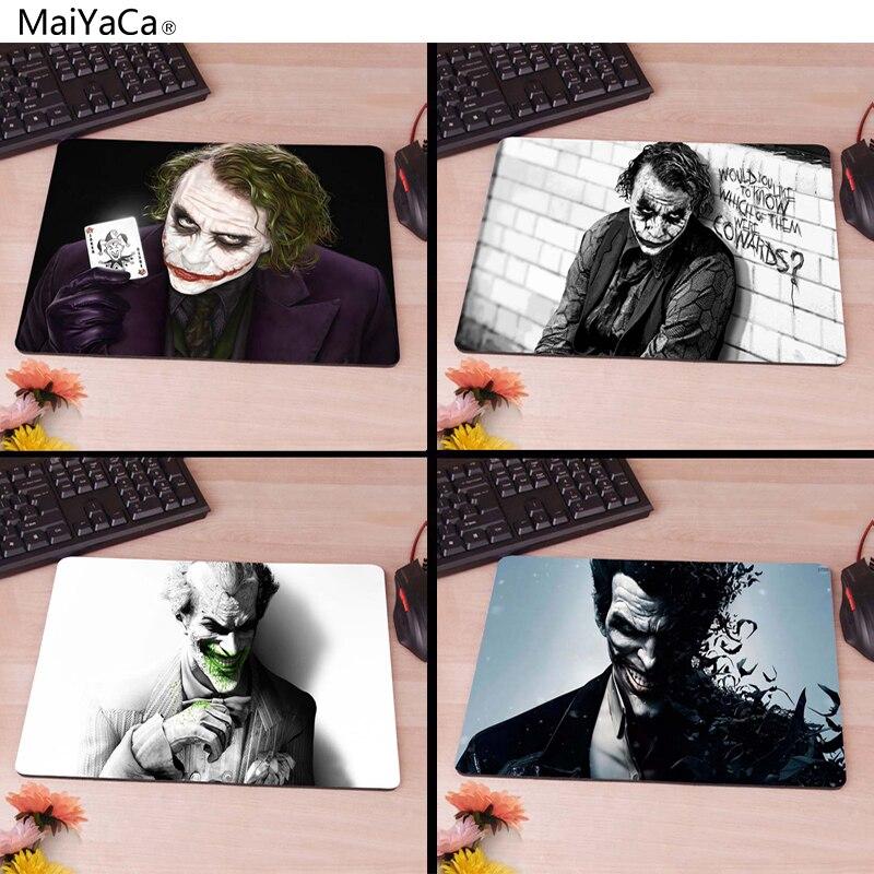 MaiYaCa Batman Arkham City, Joker, Heath Ledger Gaming Gamer Mice Mause Mouse Pad New Rubber Non-Skid Rubber Pad