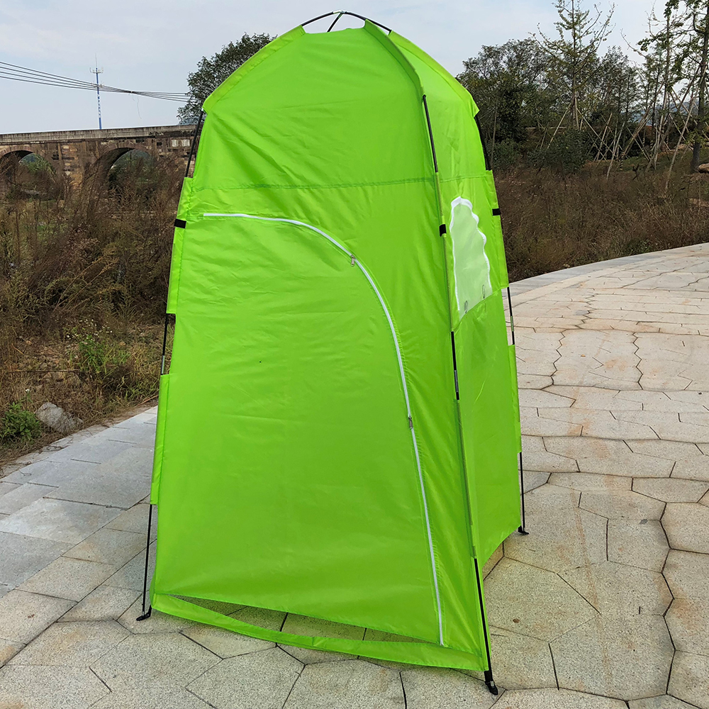 TOMSHOO Portable Camping Tent  With Large Zippered Door Used As Forest And Mountain 13