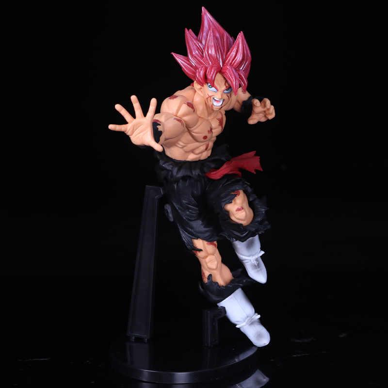 23 см Dragon Ball черный Сон Гоку игрушка ПВХ аниме Рисунок Супер Саян модель цифры кукла украшения подарок для детей z50