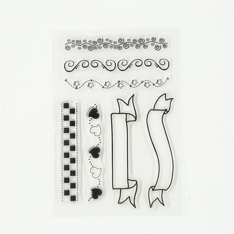 alll kinds of frames design Transparent Clear Stamp Seal For DIY Scrapbooking Decor for paper card craft wedding gift TM-166 lovely animals and ballon design transparent clear silicone stamp for diy scrapbooking photo album clear stamp cl 278