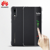 Original Huawei P20 Pro case Huawei P20 case silicone smart cover magnetic luxury flip leather 360 shockproof P 20 P20PRO case