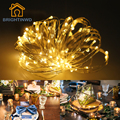 Holiday Lighting Novelty 10M 100LED String light Copper Wire Colorful Fairy String Lights Wedding Party Christmas Decoration