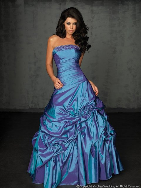 Free Shipping 2011 Fashion Sweetheart Slimming Ball Prom Dress In