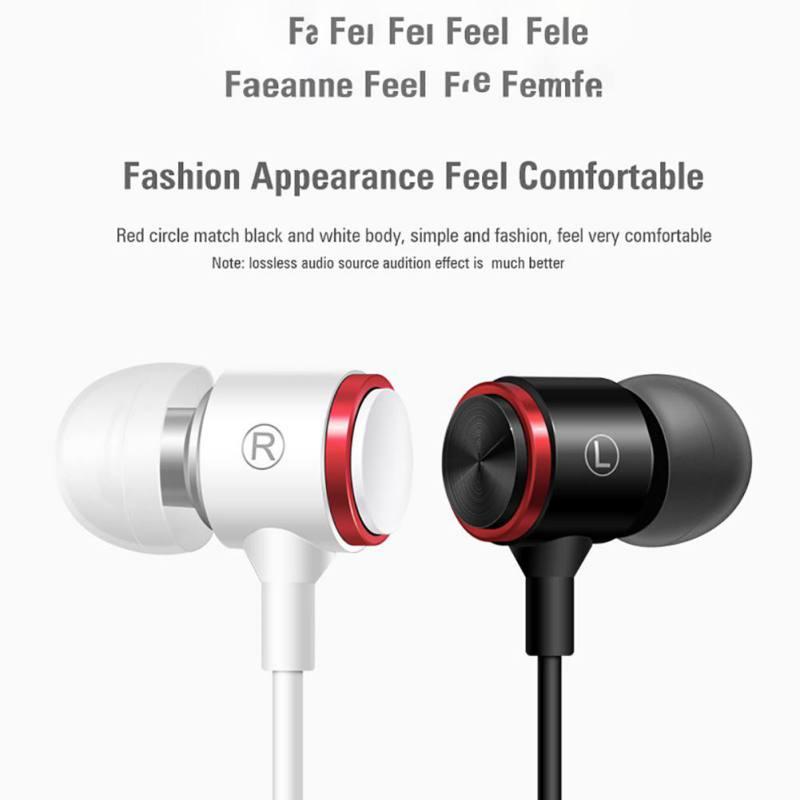 Beautiful Sports Waterproof Sweatproof Wired Earphones Metal Subwoofer Headset Wire Control Earplugs For Xiaomi Samsung Huawei Pc Laptop