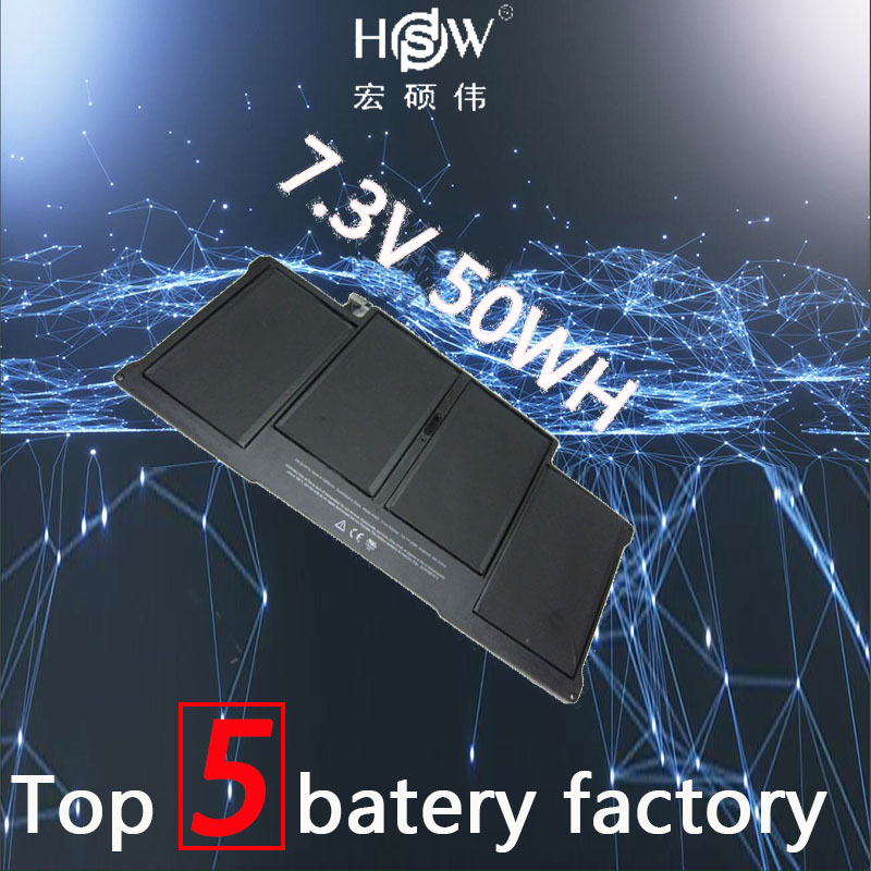 HSW rechargeable battery for APPLE FOR MacBook Air Core i5 1.6 13 (A1369 Mid-2011) A1405 A1466 2012 bateria akku hsw laptop battery for apple for macbook air core i7 1 8 13 a1369 mid 2011 a1405 a1466 2012 bateria akku