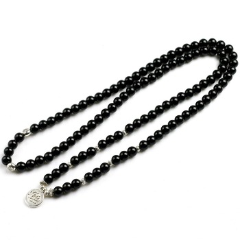Bracelet En Onyx Noir