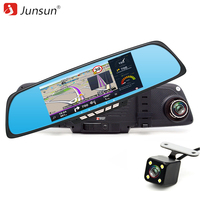 Junsun 6 86 Car DVR Rearview Mirror Camera Android RAM1GB ROM 16GB GPS Navigation WiFi 1080P