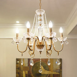 Shopcase złoto rustykalne  długi  vintage żyrandol oświetlenie kryształowe retro antyczne żyrandole do jadalni dla castle led Candelabro