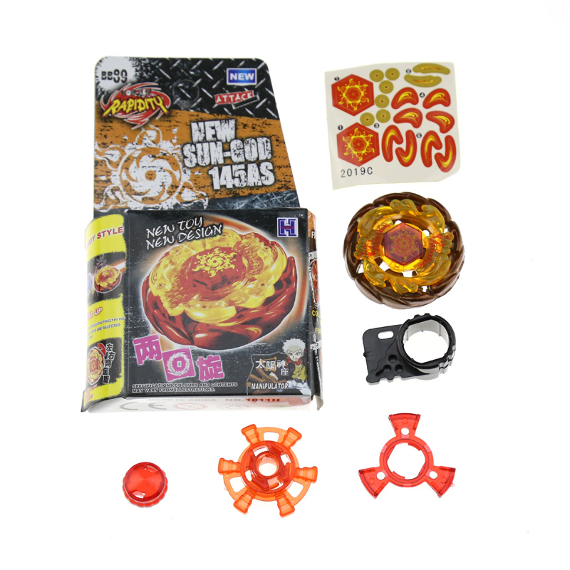 1Pcs Metal Fusion Beyblade 4D BB89 145AS Without Launcher Spinning Top Kids font b Toys b