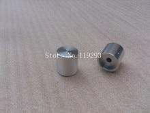 [BELLA]HIFI fever solid aluminum volume knob potentiometer knob bright silver blasting cap diameter 25 high 26–10PCS/LOT