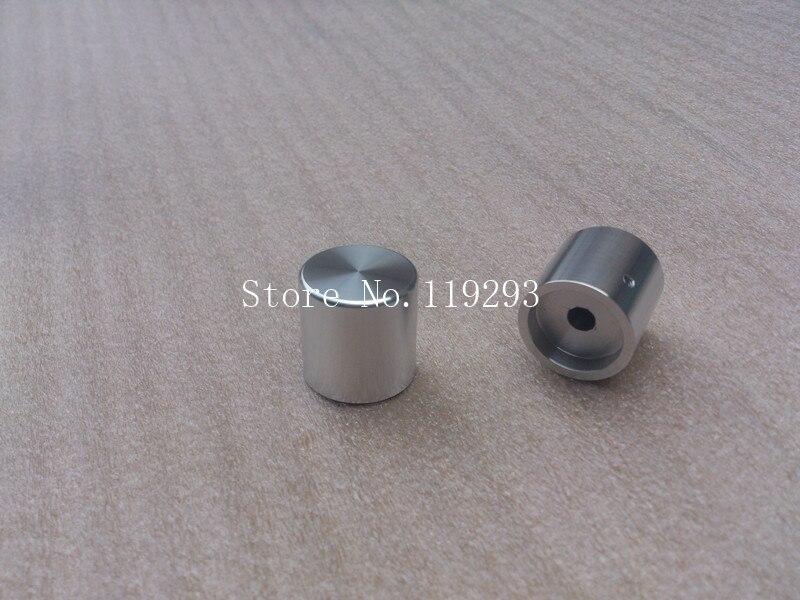 [BELLA] febre HIFI botão do potenciômetro botão de volume de alumínio  sólido prata brilhante
