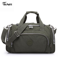 TEGAOTE Men's Travel Bag Zipper Luggage Travel Duffle Bag 2017 Latest Style Large Capacity Male Female Portable Travel Tote