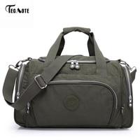 TEGAOTE Men S Travel Bag Zipper Luggage Travel Duffle Bag 2017 Latest Style Large Capacity Male