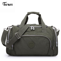 TEGAOTE Men S Travel Bag Zipper Luggage Travel Duffle Bag 2017 Latest Style Large Capacity Male