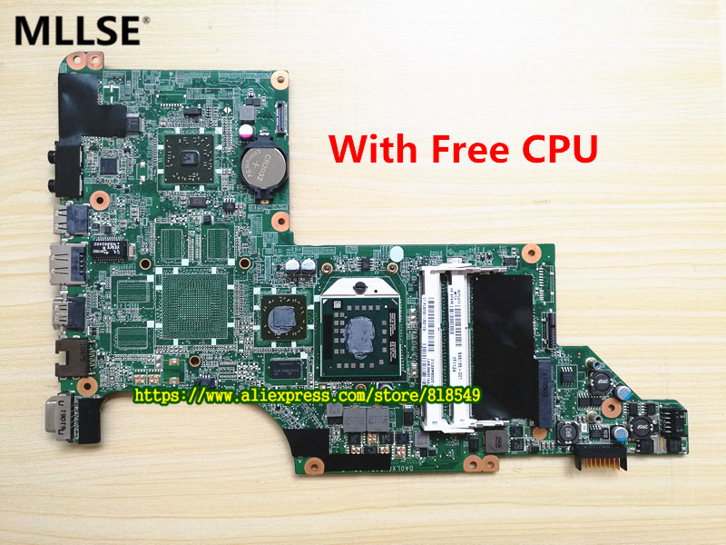 595135 001 Laptop motherboard Fit for hp Pavilion DV6 3000DV6Z 3200 NOTEBOOK DA0LX8MB6D1 REV D 100