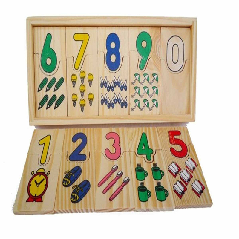 1 компл. рано дошкольных образовательных учреждениях для обучения математике узор номера ...