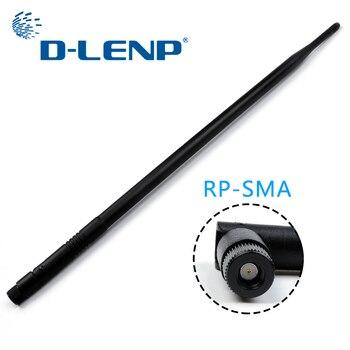 Antenas de banda Dual Dlenp 10dBi Wireless WiFi Router antena 2,4g Siganl Booster para y enrutadores inalámbricos WiFi RP-SMA