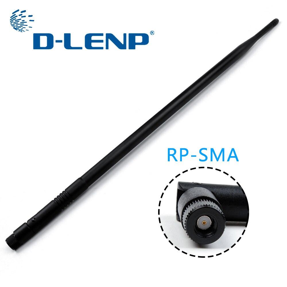 Dlenp Double Bande Antennes 10dBi Sans Fil WiFi Routeur Antenne 2.4G Siganl Booster pour et WiFi Sans Fil Routeurs RP-SMA
