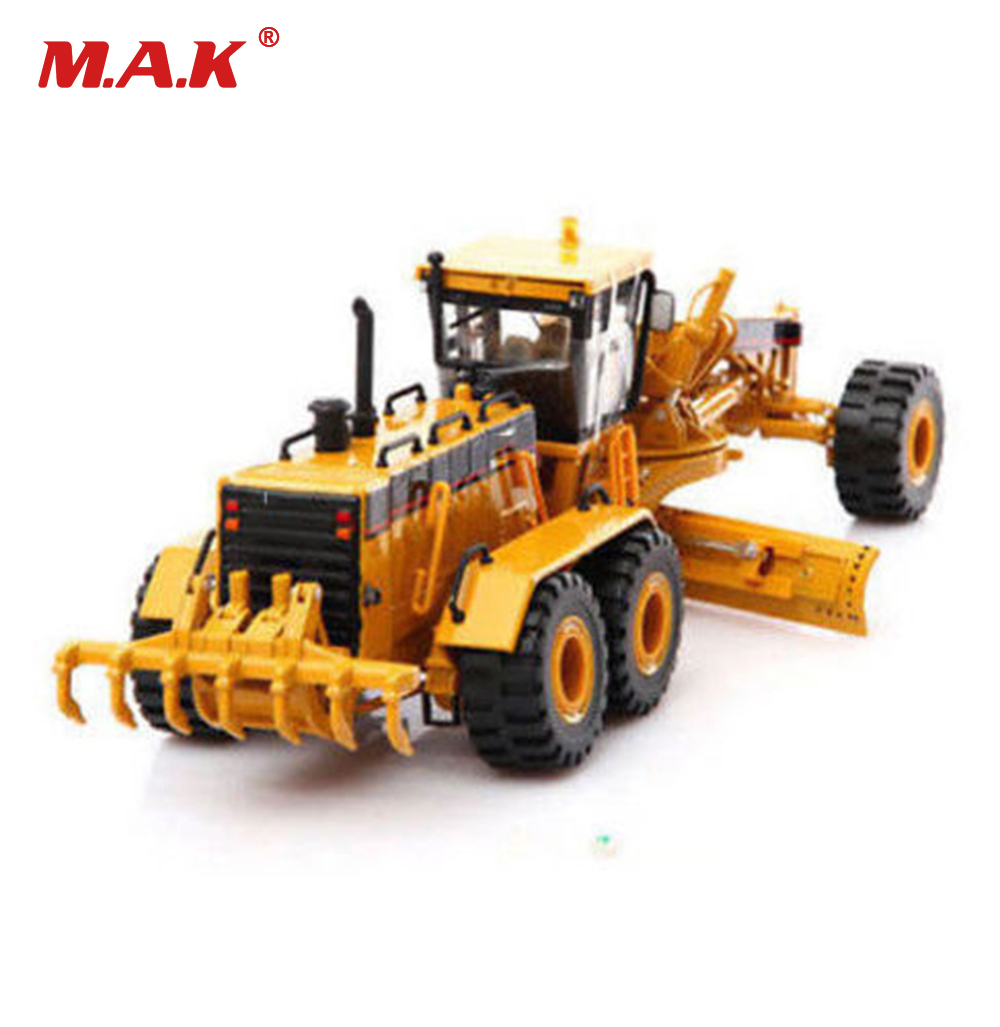 collection diecast 1/50 scale Norscot 55133 24H Self-propelled grader diecast truck diecast model engineering vehicles toy collection diecast 1 24 scale 1 24 diecast bt levio forklift red electric pallet truck car vehicles diecast model