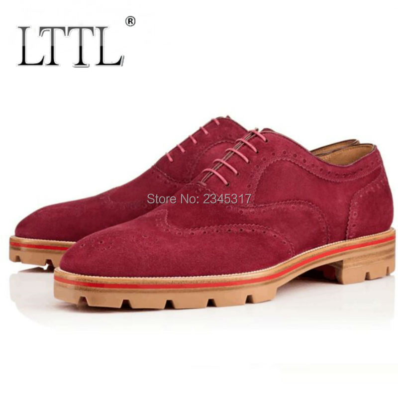 Popular Red Suede Oxford Shoes-Buy Cheap Red Suede Oxford Shoes ...