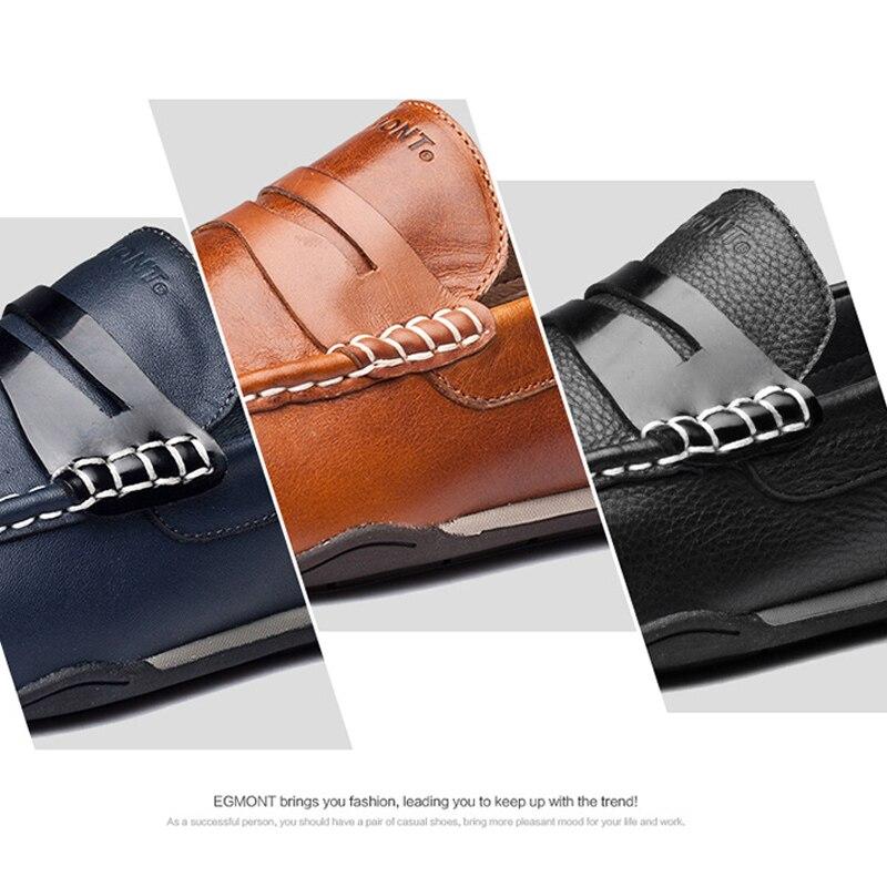 on Verão Respirável Feitos De À Egmont Navy Shoes Confortável Mocassim Sólida Marinha Slip Couro Primavera Sapatos Mens Casual Mocassins Mão XqwUEgwfx