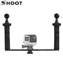 En aluminium Étanche En Alliage De Poche Stabilisateur Montage pour GoPro 6 5 4 Session Xiaomi yi 4 K SJCAM Eken Steadycam pour Nikon caméra