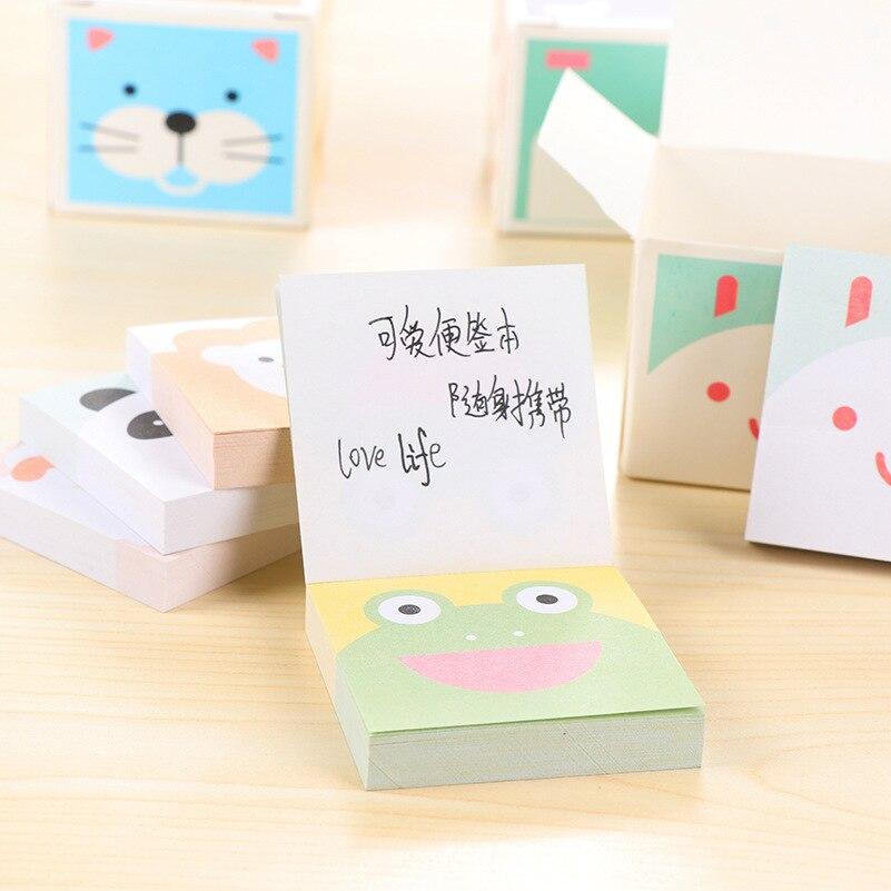 Kawaii Paper Sticky Memo Pad Leuke notitieblok Post Note Bookmark - Notitieblokken en schrijfblokken bedrukken - Foto 5