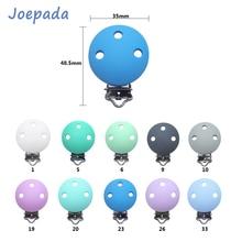 Baby Silicone Beads Toy-Clips Nipple-Holder Dummy Draft Joepada Bpa-Free Nursing Round