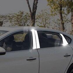 6 sztuk dla MG MG6 2018 okno środkowa kolumna ze stali nierdzewnej udekoruj wykończenia