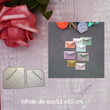 Envelope Metal Steel Cutting Embossing Dies For Scrapbooking paper craft home decoration Craft 5.1*9.5 CM