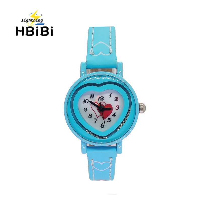 2019 New Small Strap Children Watches Fashion Love Heart Women Watch For Girls Kids Bracelet Clock Wholesale Lots Bulk Watches