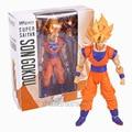 SHFiguarts Dragon Ball Z Super Saiyan Goku PVC Figura de Acción de Colección Modelo de Juguete 2 Colores 17 cm