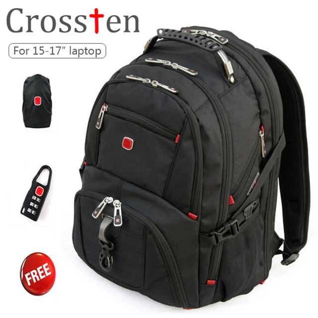 New Crossten Swiss Military Army Travel Bags Laptop Backpack 15.6 ...