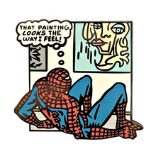 Spidey feels булавка комикс панель брошь картина иллюстрация Искусство популярный меме значок классная идея показать беспорядок чувствовать