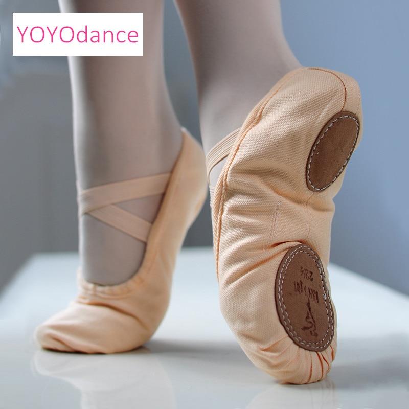 High Quality Split Sole Canvas Ballet