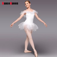 Professional Ballet Tutus Competition White Swan Lake Ballet Costumes Bolsa De Ballet Performance/ Dance Dresses DQ9013