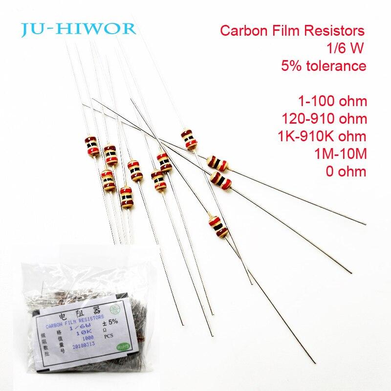 282-10K-RC 10K Ohm 2 Watt 5/% Metal Oxide Resistor 10 Piece Lot