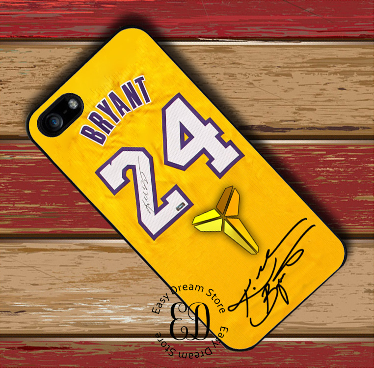 Kobe Bryant jersey cover case for iphone 11 pro X XR XS Max 6 7 8 11 plus Samsung s10 E s7 s8 s9 plus note 8 9 10