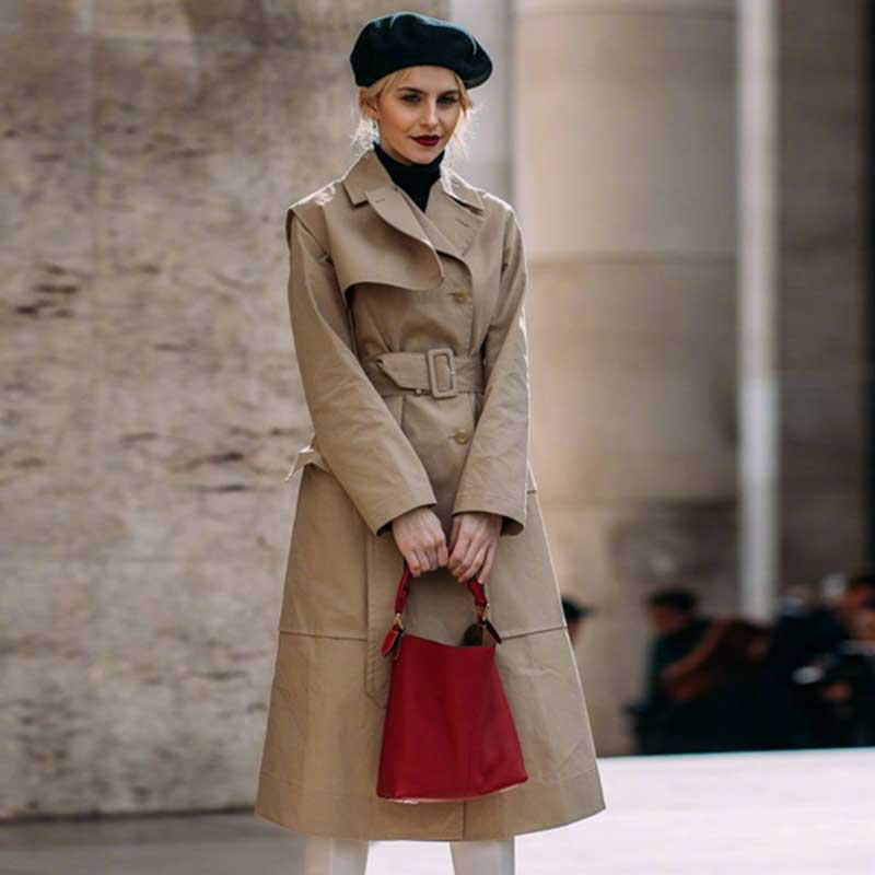 Ladies Khaki   Trench   Coat Slim Belt Cloak Mujer Windbreaker Female Casual Outerwear Loose Slim Cloak   Trench   Coat Women Waistcoat
